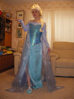 Elsa's Ice Dress Tutorial by Tracy Fletcher
