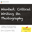 diaphanousworld: Wanted: Critical Writing on Photography
