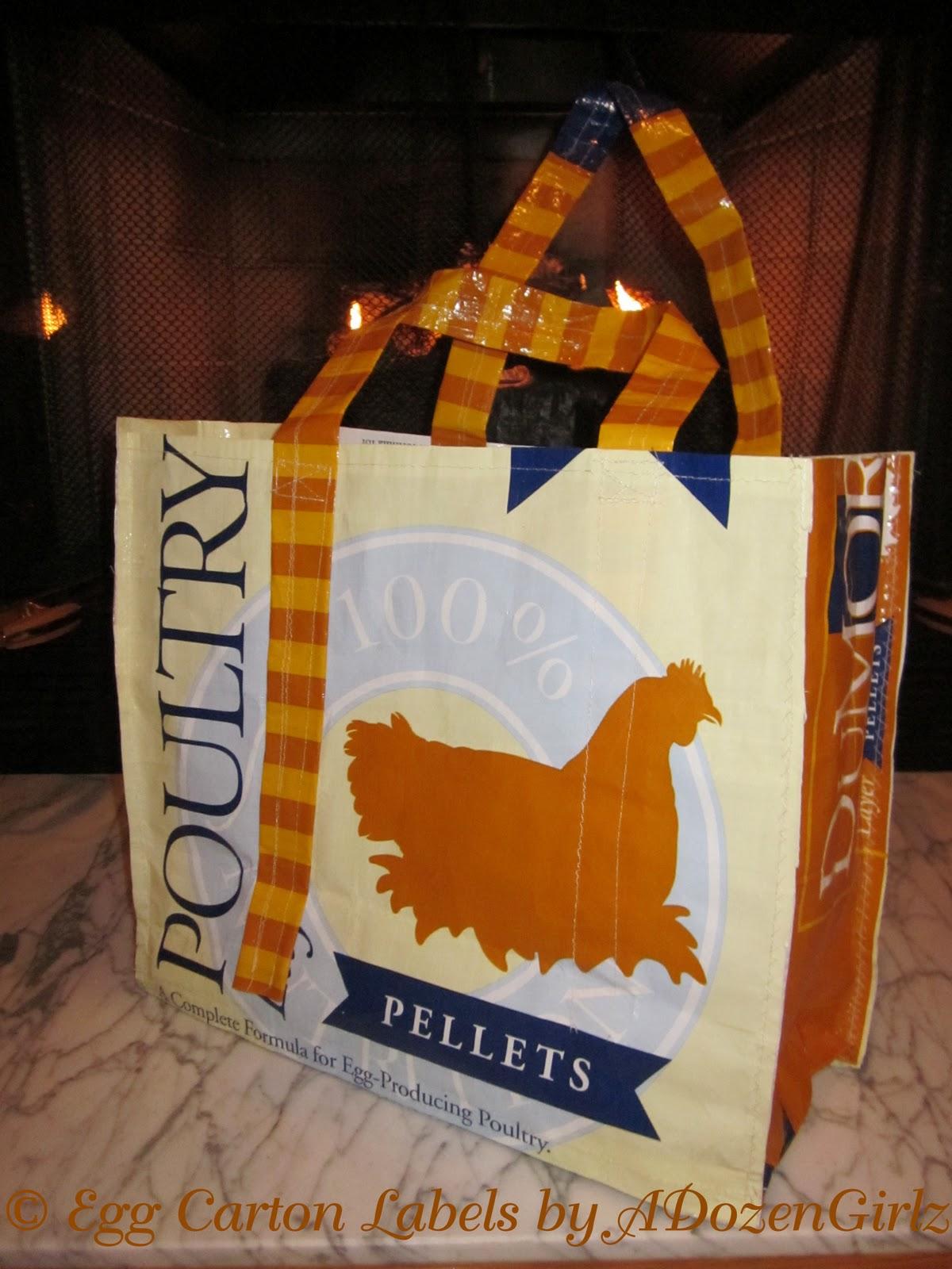 The En Re Purposed Feed Bags