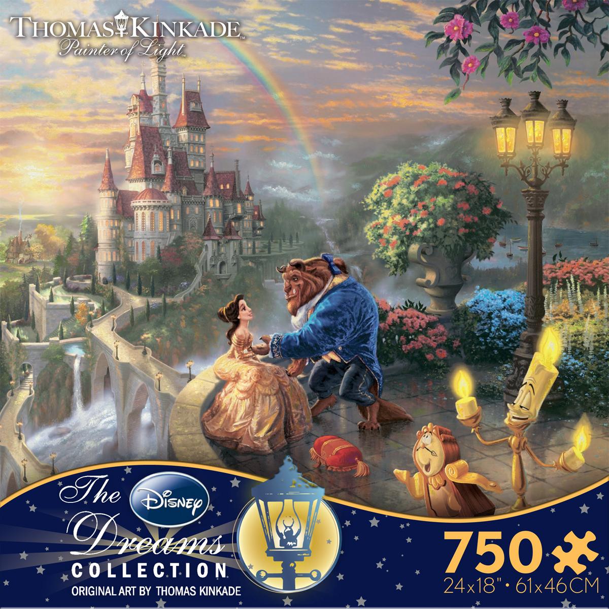 Susans Disney Family New Thomas Kinkade Disney Jigsaw Puzzles Giveaway