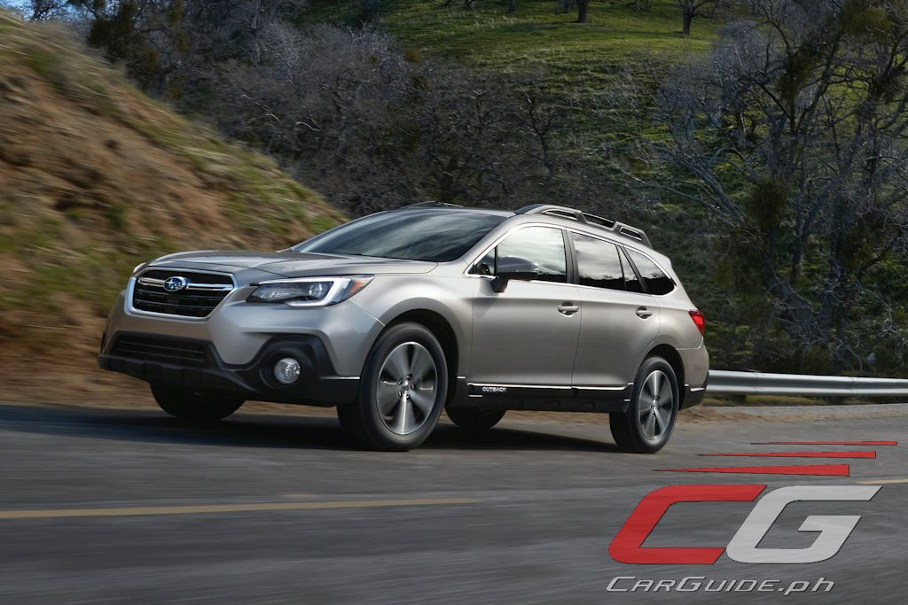 2018 Subaru Outback Is More Rugged Premium Comfier Philippine