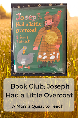 Image of book jacket of Joseph Had a Little Overcoat