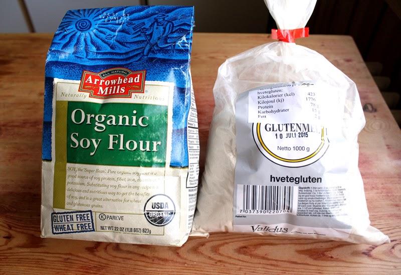 Oppskrift Hva Er Glutenmel Hvetegluten Soyamel Proteinrik Bakst