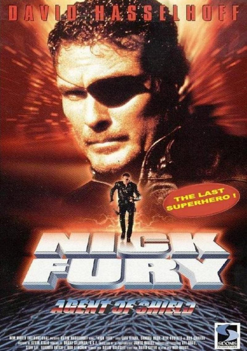 TRASH Movie: Nick Fury: Agente da S.H.I.E.L.D (1998)