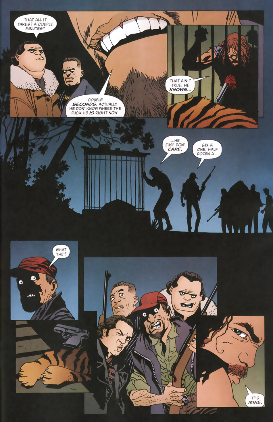 Read online 100 Bullets comic -  Issue #48 - 18