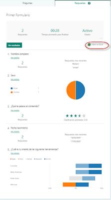 Forms: Un formulario en la nube para Excel