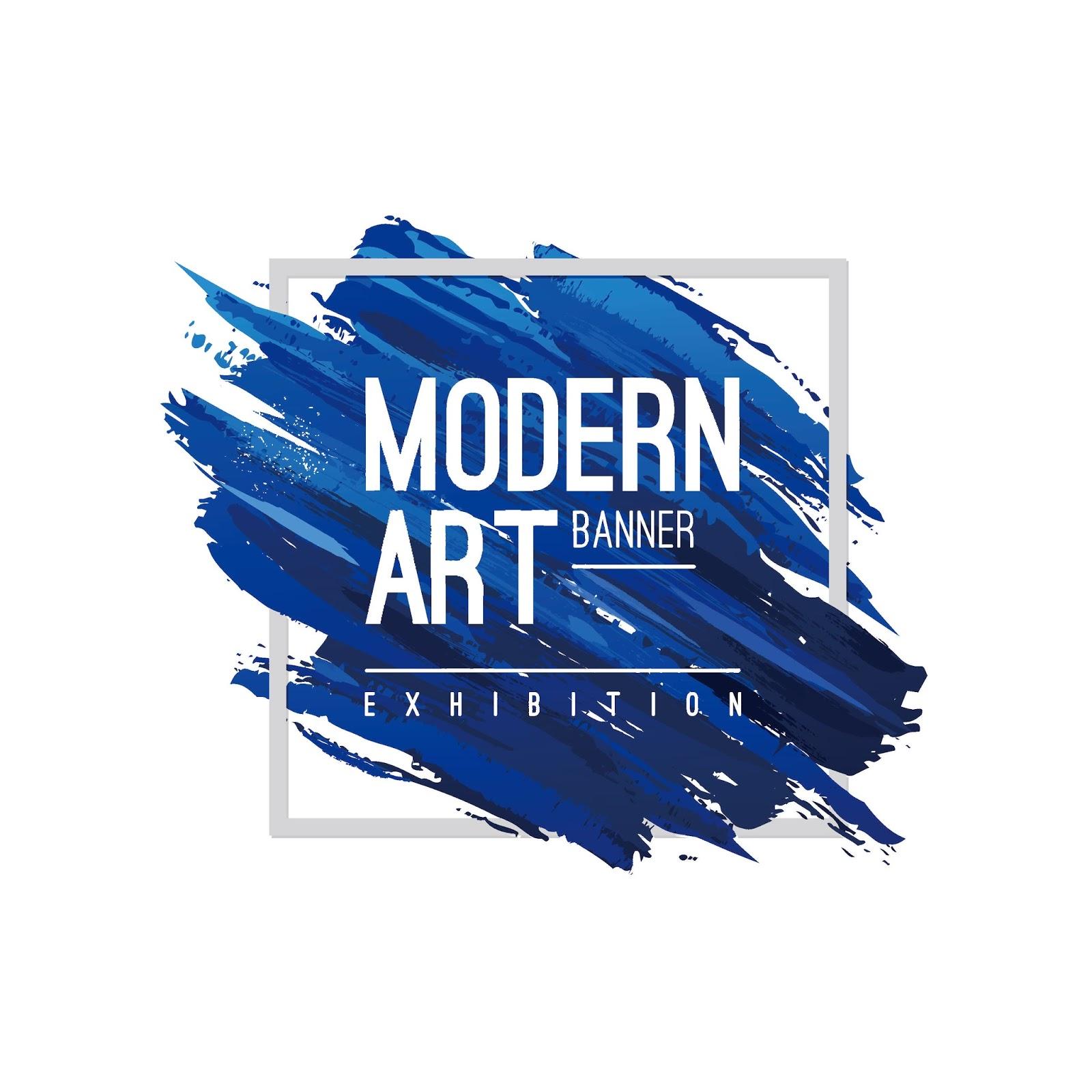 Desain Poster Water Color Modern Art Format EPS dan CDR ...