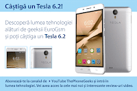 Castiga un smartphone Tesla 6.2