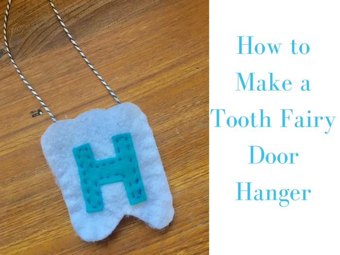 Bybmg How To Make A Tooth Fairy Door Hanger