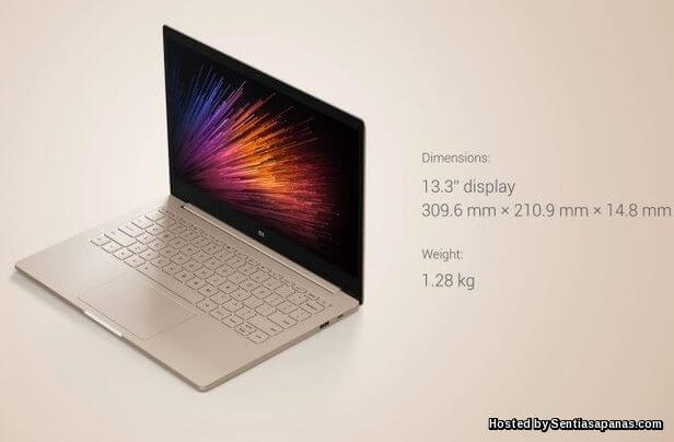 Xiaomi 'Mi Notebook Air' Spesifikasi