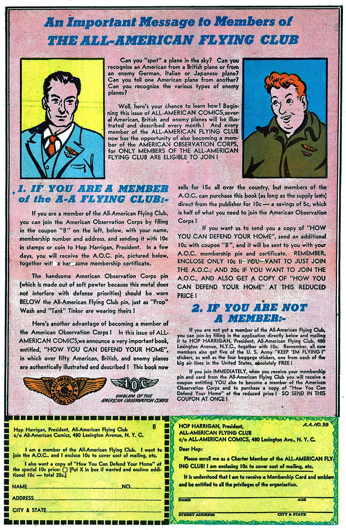 Read online All-American Comics (1939) comic -  Issue #38 - 34