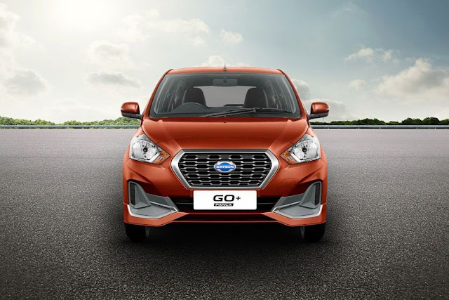 New 2018 Datsun GO Plus Facelift front show