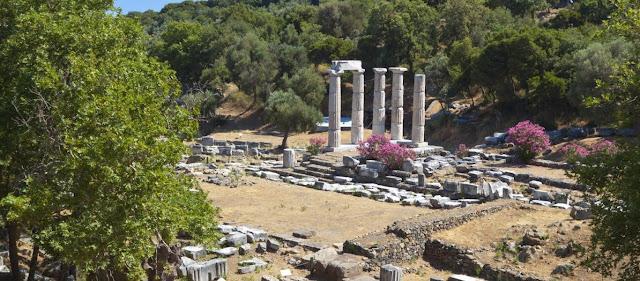 Επιβλητικά ευρήματα στο Ιερό της Νίκης στη Σαμοθράκη