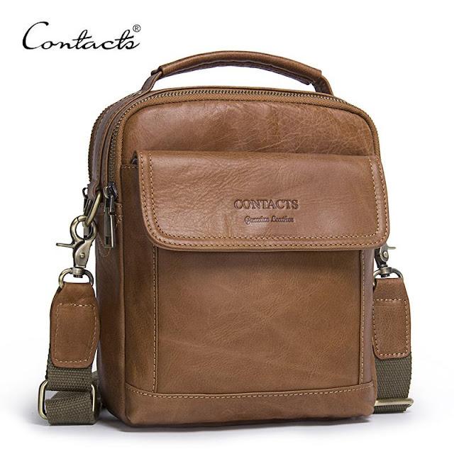 Men's Tote Vintage New Crossbody Handbag