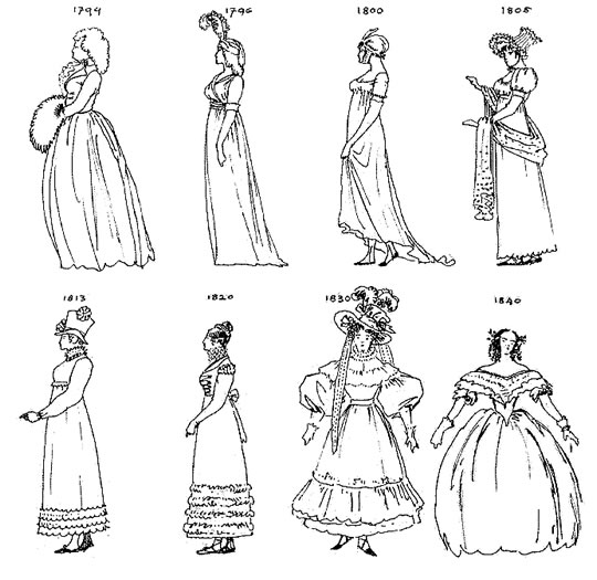 The Petticoat Archives: Les Miserables: The costumes, and