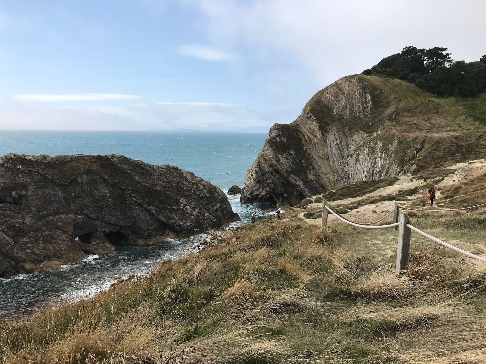 Lulworth Cove \ views over Stair Hole