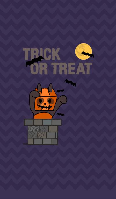 Trick or Treat! + indigo [os]
