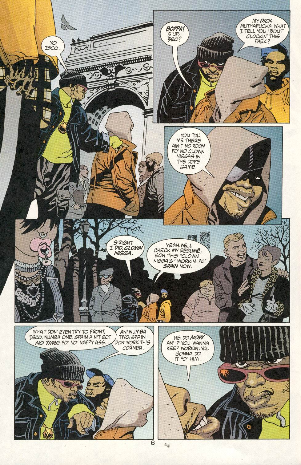 Read online 100 Bullets comic -  Issue #20 - 8