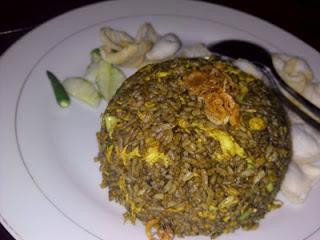 Nasi Goreng Rawon Ala De Bamboo Resto and Cafe, Batu