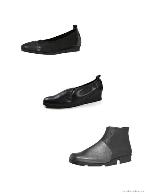 3 pairs of Arche shoes purchased in Paris October 2017
