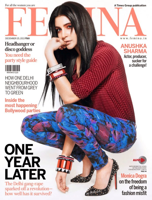 Anushka Sharma in Femina Magazine