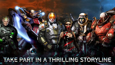 Evolution: Battle for Utopia MOD APK 3.5.2 (Unlimited)