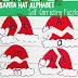 Santa Hat Alphabet Puzzles