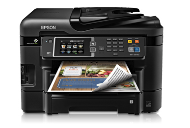 Epson WorkForce WF-3640 printer drivers and review