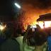 Ditinggal Nglayat, Warung Soto Timur Pasar Sumoroto Kauman Ponorogo Ludes Terbakar
