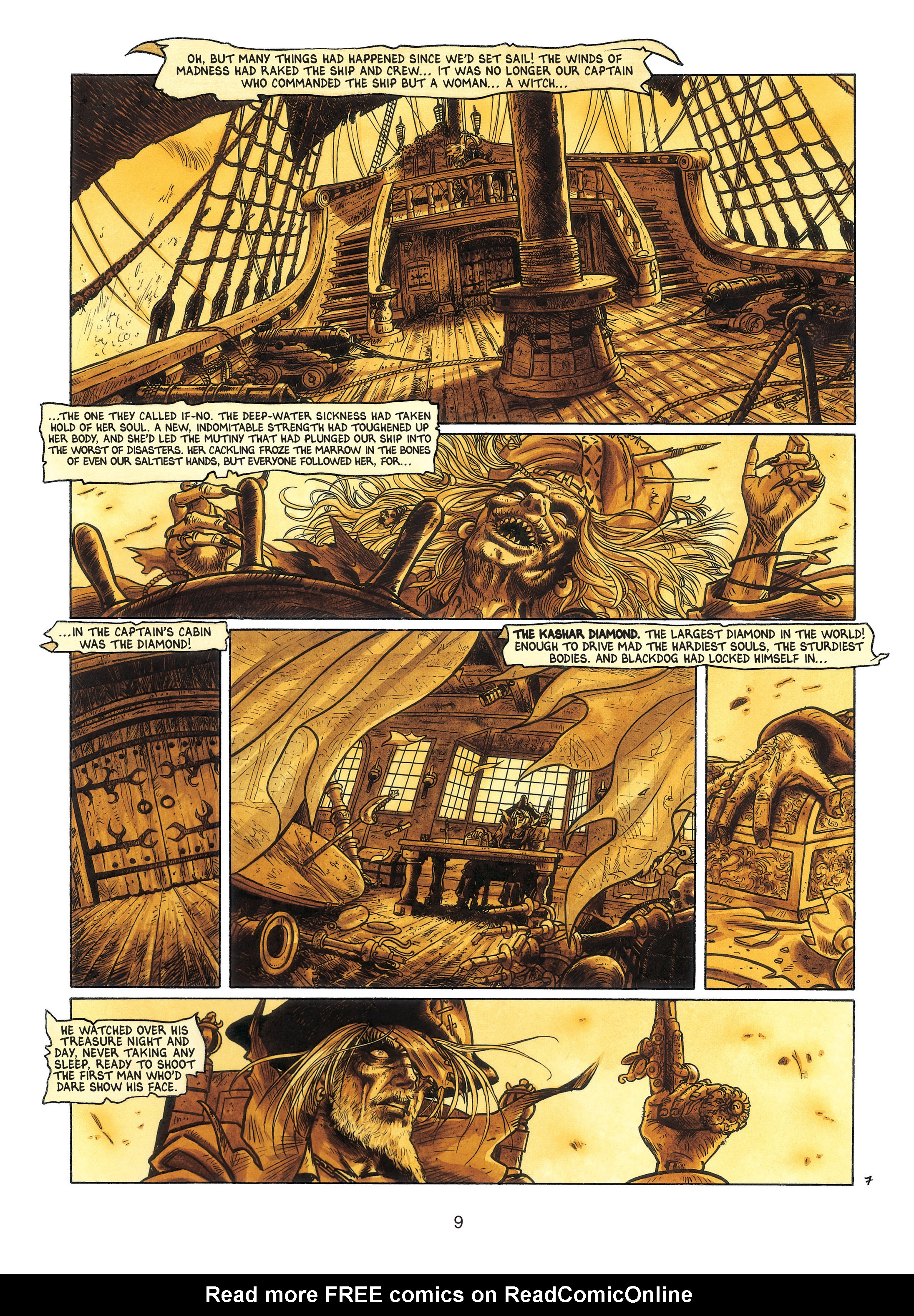 Read online Barracuda comic -  Issue #3 - 10