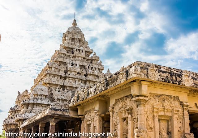 Kanchipuram Kailasanathar Temple Tower