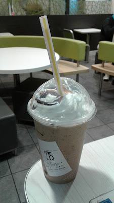 McDonald's medium Chocolate Chip Frappe