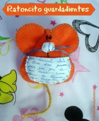 Conhiloslanasybotones: ratoncitos guardadientes de fieltro