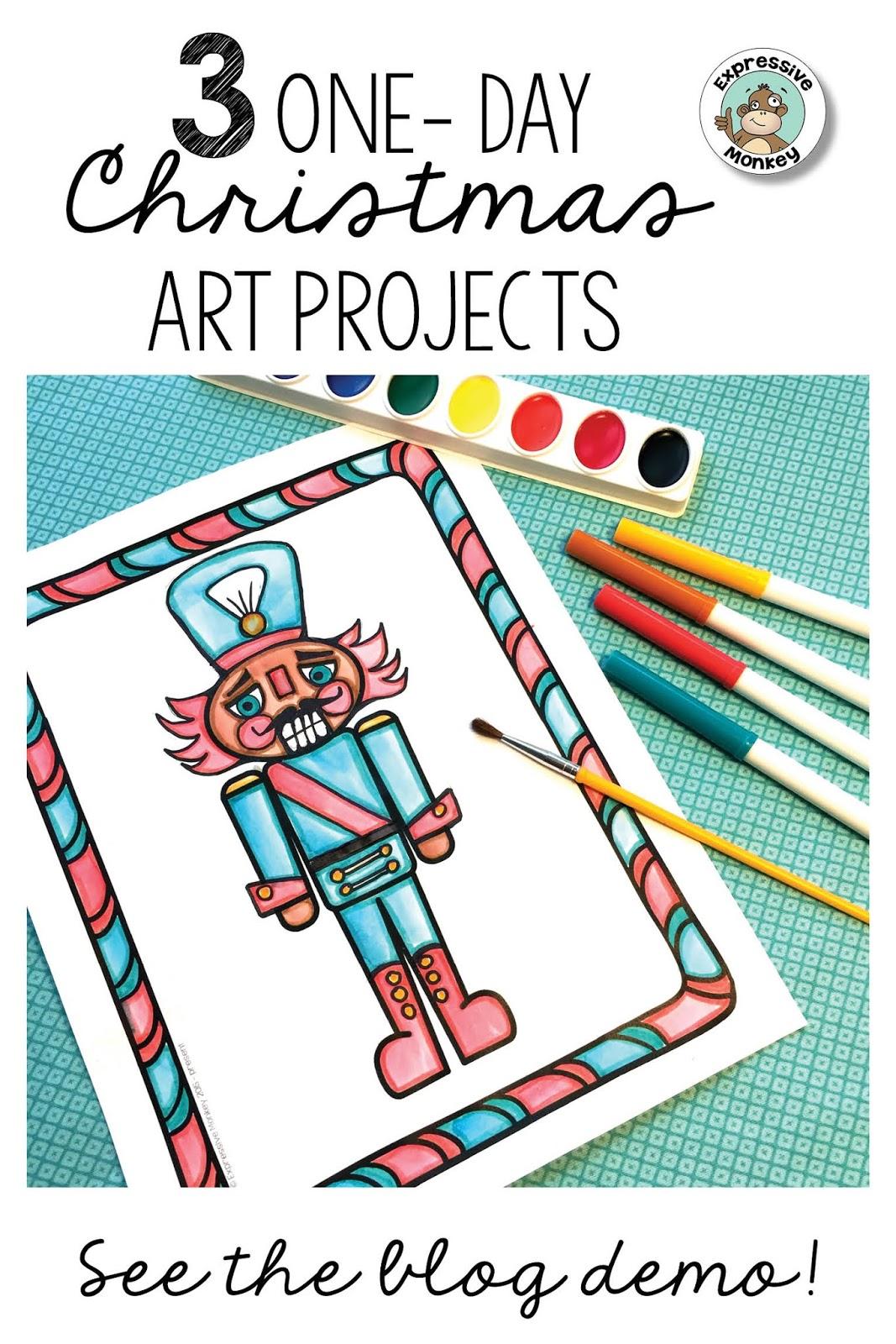 3 Christmas Drawing Ideas Expressive Monkey