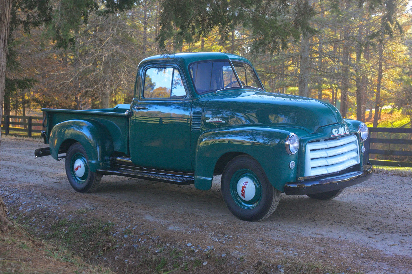 All American Classic Cars: 1952 GMC 1/2 Ton Pickup Truck