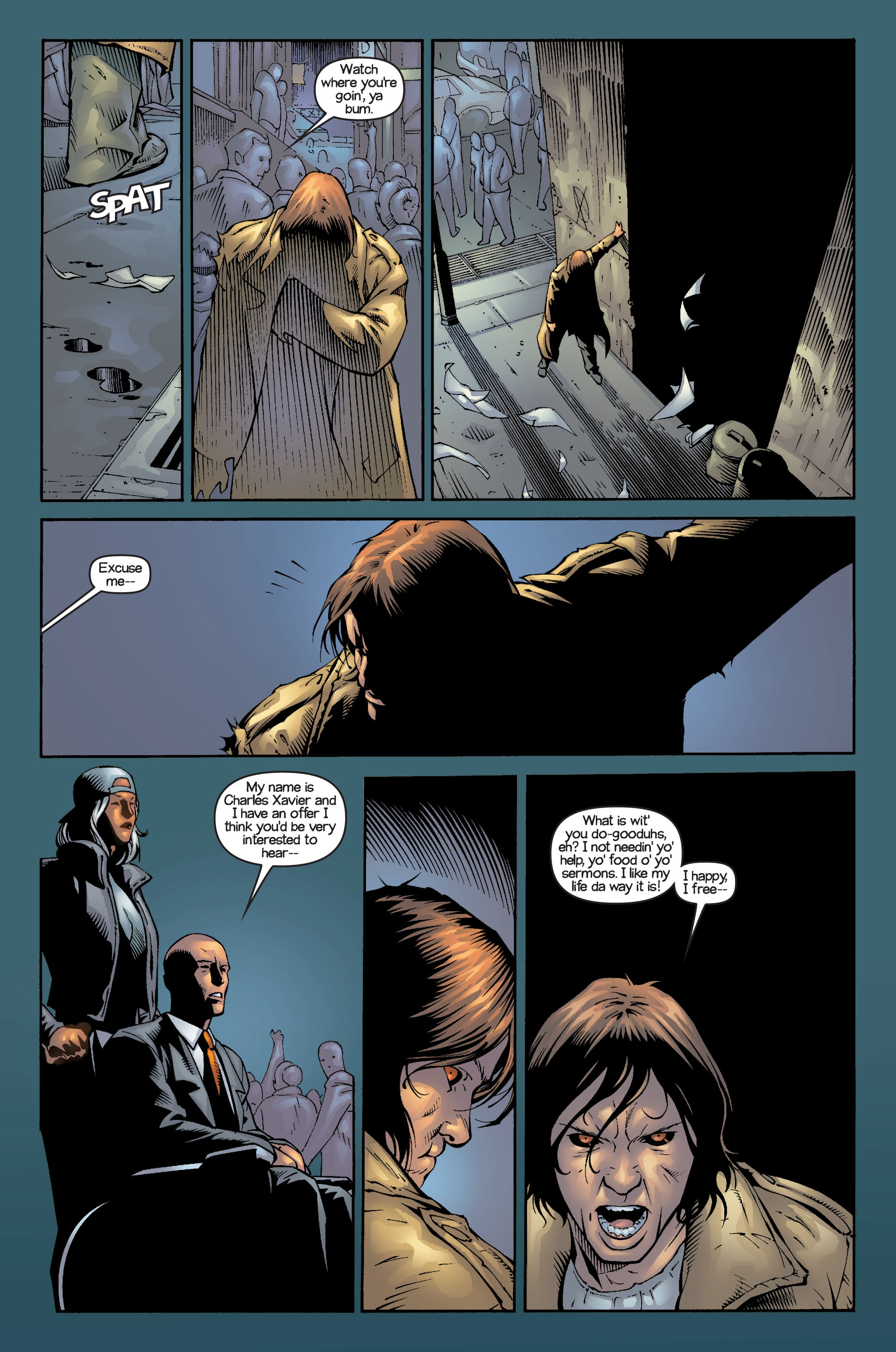 Read online Ultimate X-Men comic -  Issue #14 - 11