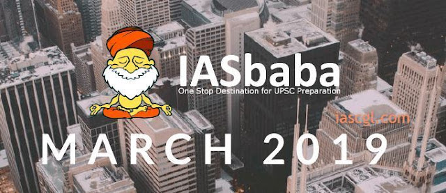iasbaba Current Affairs March 2019