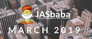 IASbaba Current Affairs March 2019 - Download pdf