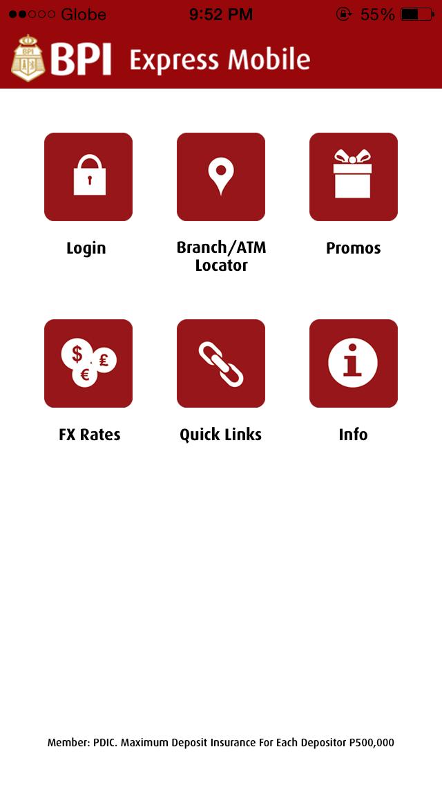BPI Expressmobile App: a comprehensive walk-through.