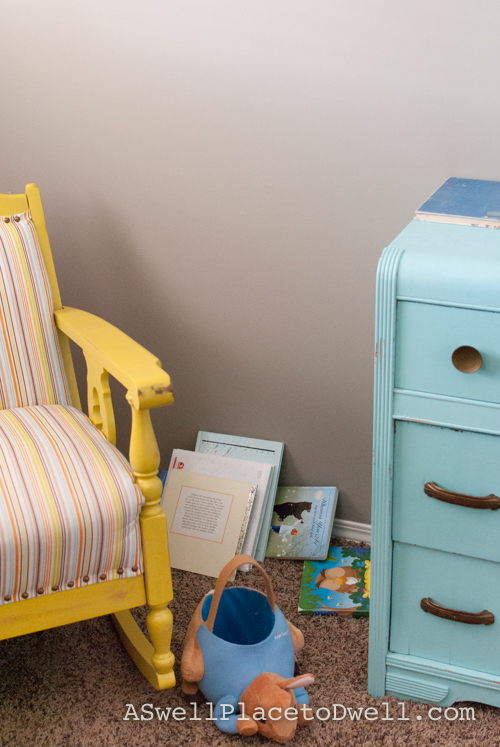 Reading nook before