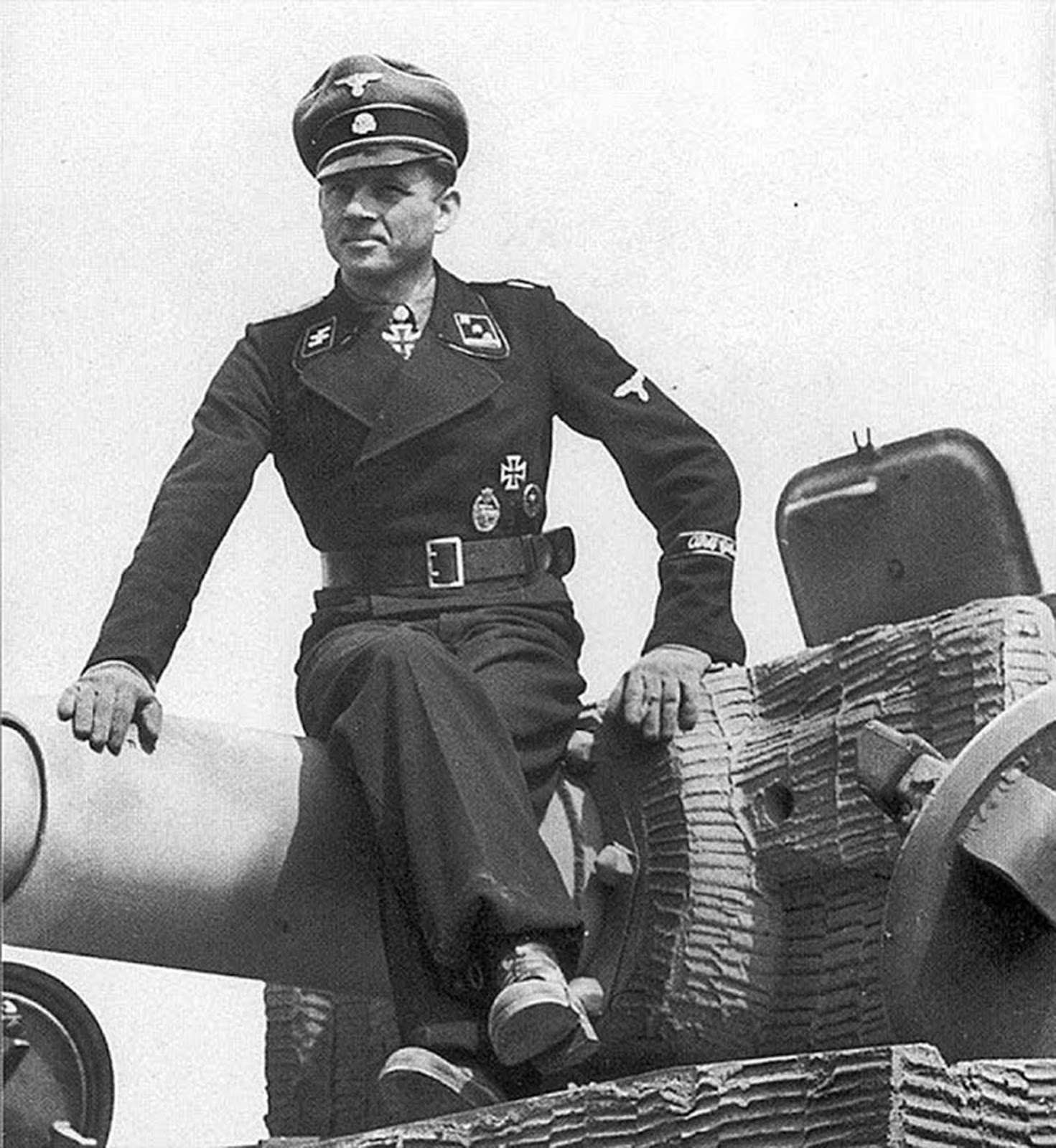 Michael Wittmann was one of the top panzer leaders of the war. You may be good at the video games, but he did it for real.