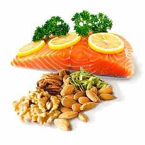 """<img src=""""fuentes-de-Omega-3.jpg"""" alt=""""exisen diversos alimentos que son fuente de Omega 3 como las nueces y los pescados azules"""">"""