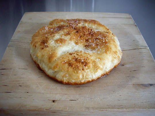 langos (pan frito de patata)