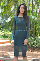 Simran Choudhary Cute beauty with dimples in transparent Green Tight Short Dress ~  Exclusive 010.jpg