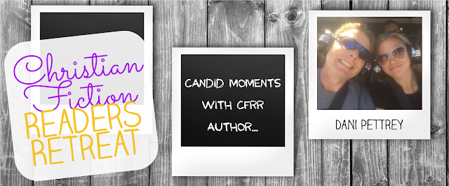 Candid Moments with CFRR author Dani Pettrey
