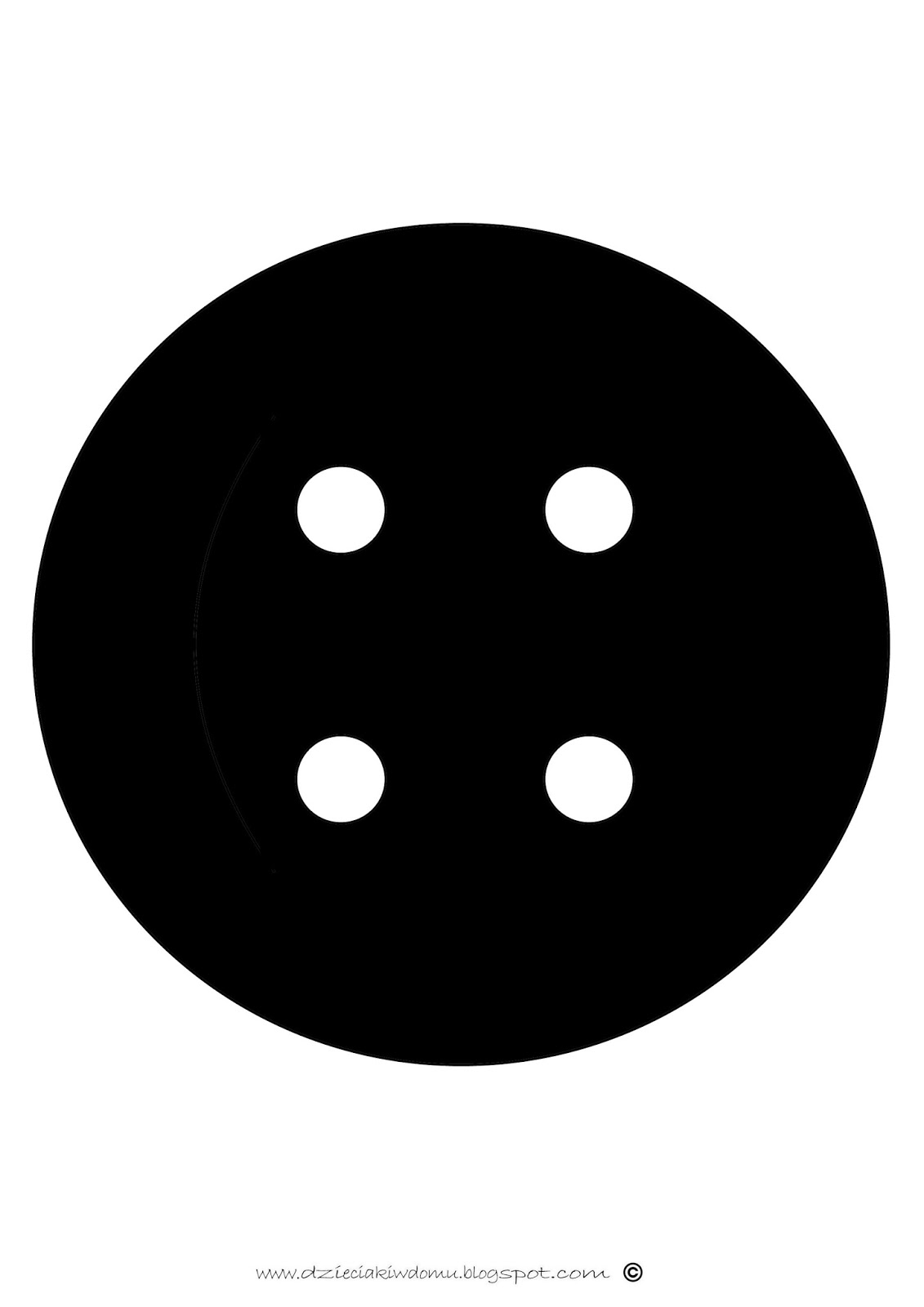 czarno białe szablony dla noworodka