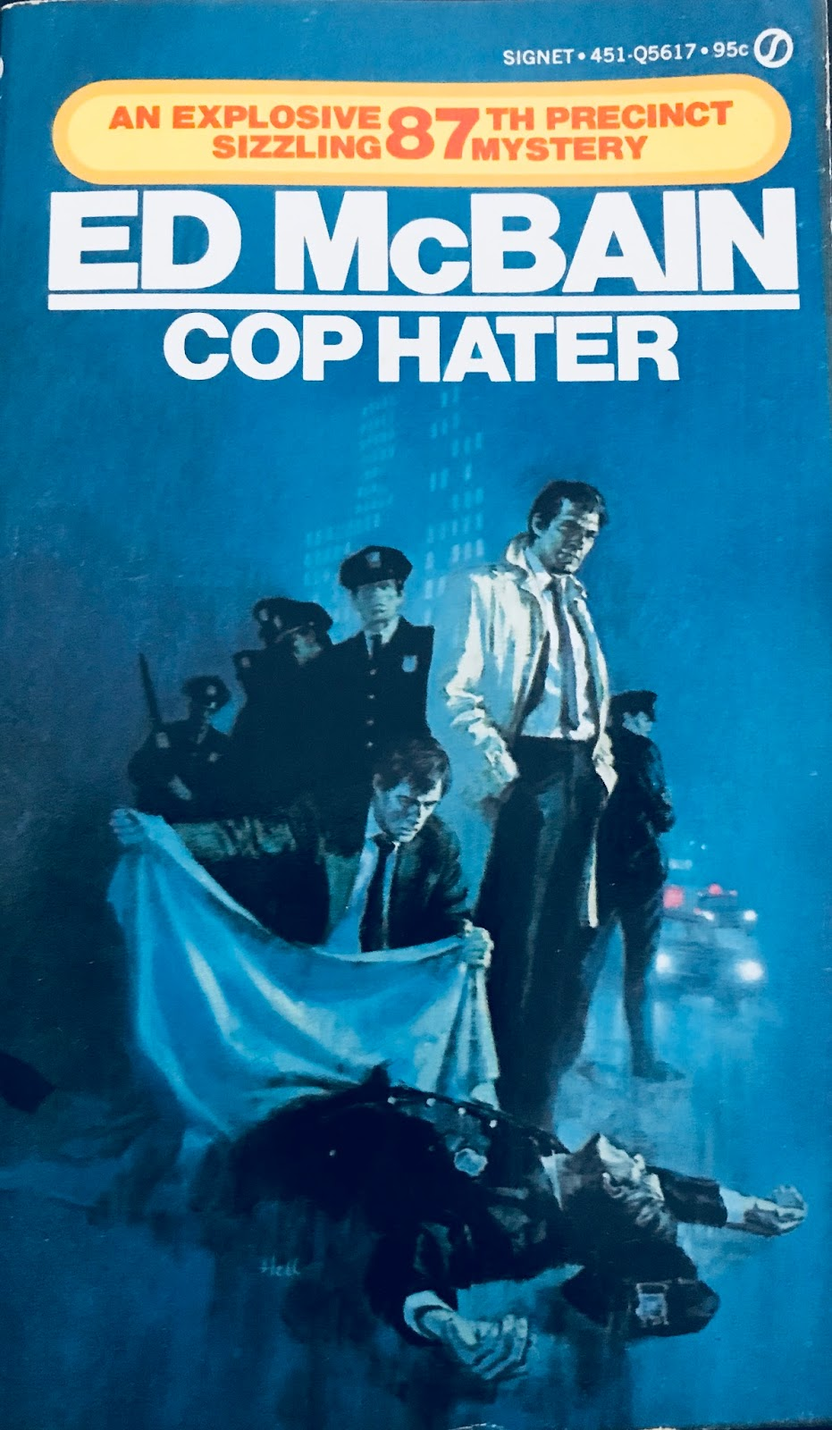 Paperback warrior march 2018 its intimidating to write a literary critique for ed mcbains kickstarter cop hater written by evan hunter its the mantle piece for the police fandeluxe Choice Image