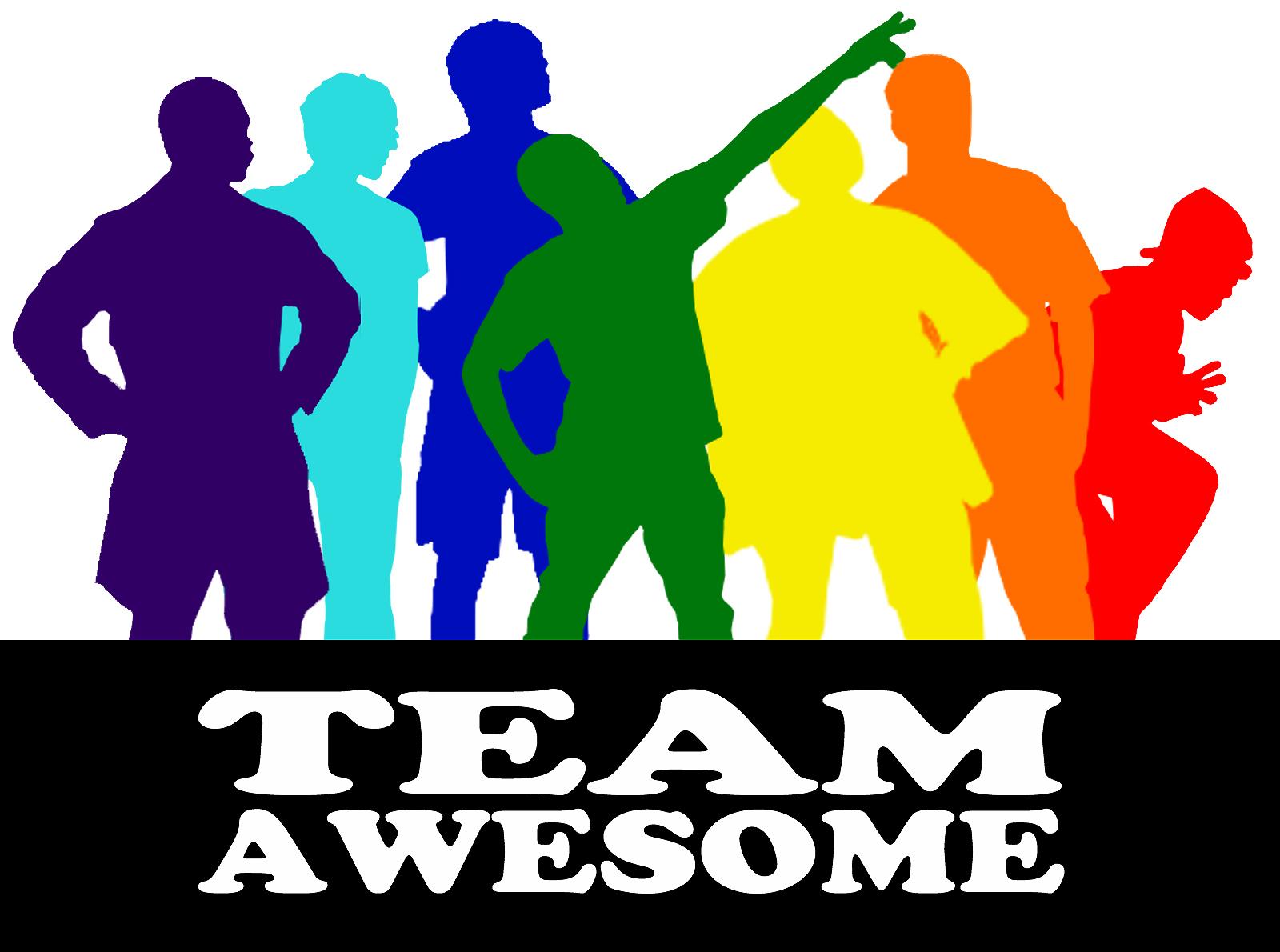 meet team awesome logo