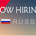 Staff Required for a Leading Malls in Russia - Apply Now