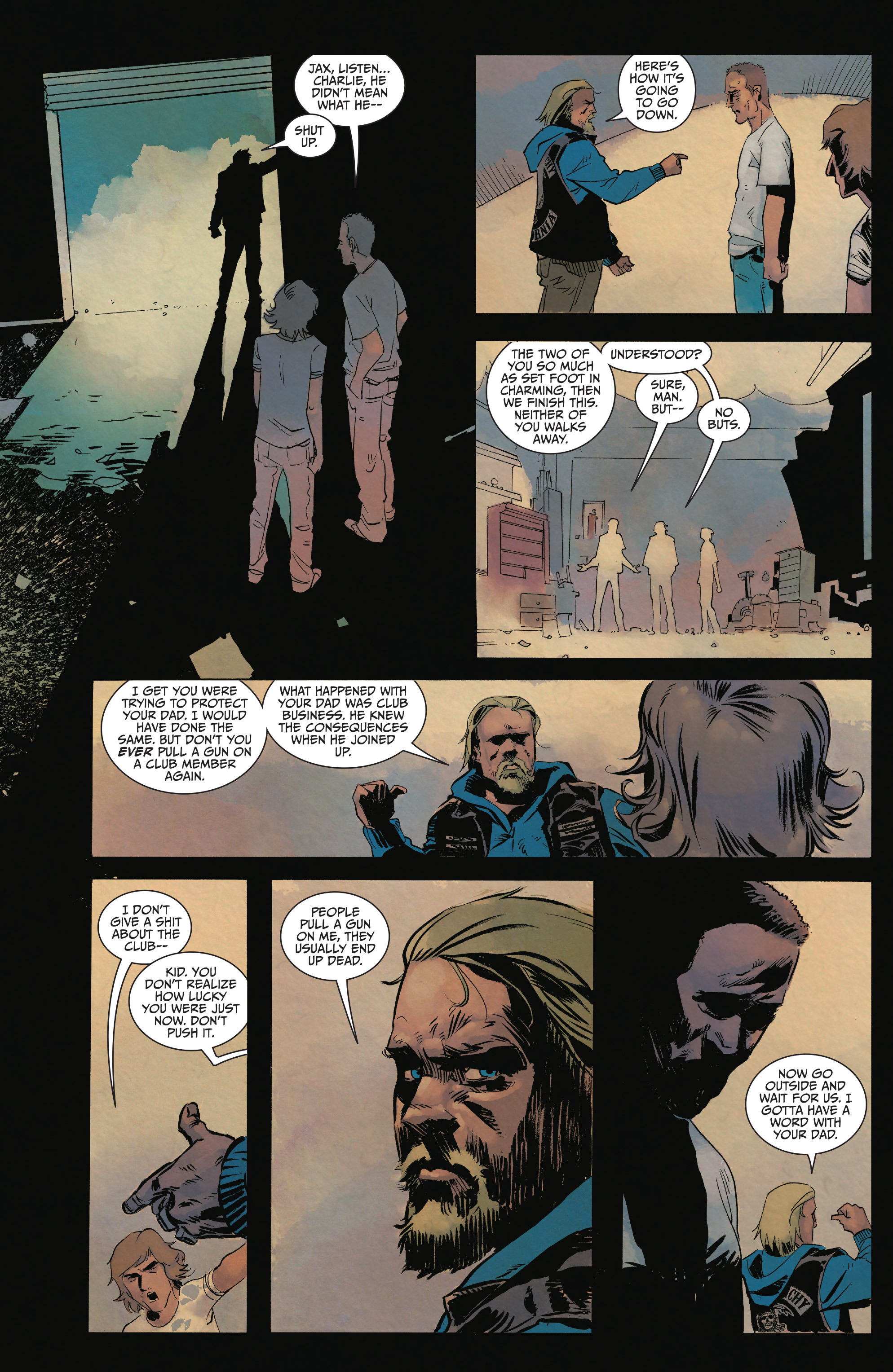 Read online Sons of Anarchy comic -  Issue #15 - 21